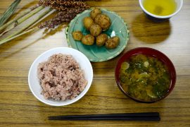 雑穀料理教室「檜原村・食文化探検」報告 Ⅲ